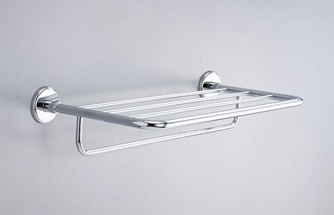 18S02-20 Model of 20 Inch Hotel Shelf with Towel Rack