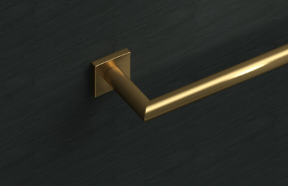 18E02 Model : Francine 18 Inch Towel Bar with Stain Bronze Finish