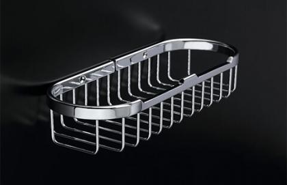 17X51 Size : Solid Brass Shampoo Basket