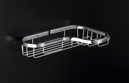 BeAnUnion 17X52 Size Shampoo Basket with Brass Frame