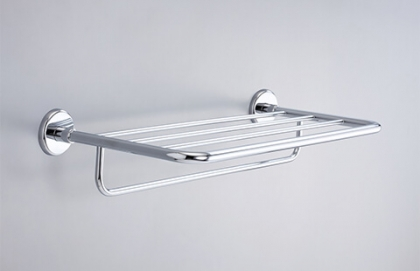 18S02-20 Model of 20 Inch Hotel Shelf with Towel Bar