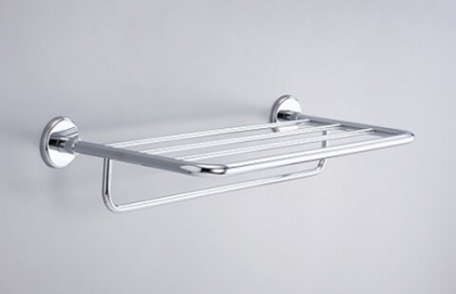 18S02-24 Model of Hotel Shelf with Towel Bar